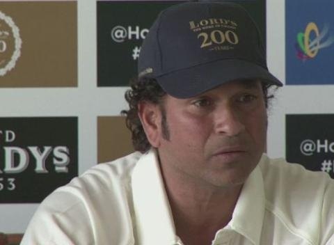 News video: Whenever I Come Here It's Special- Tendulkar