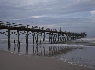 News video: North Carolina Coast Survives Hurricane Arthur